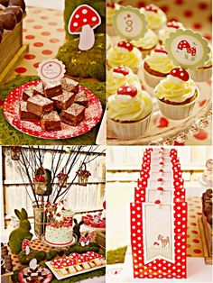 Woodland Birthday party theme for girls, inspired by bambi with DIY decorations, food, favors and printables - BirdsParty.com @birdsparty