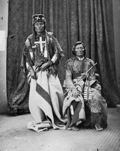 Little Wolf (aka Little Coyote), Dull Knife (aka Morning Star) – Northern Cheyenne – 1873