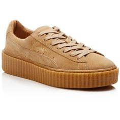 Puma by Rihanna Suede Creepers ( 120) ❤ liked on Polyvore featuring shoes afc614d0f