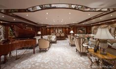 Main salon - MARTHA ANN Yacht Charter