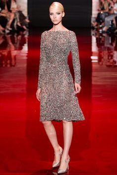 Elie Saab Fall 2013 Couture Fashion Show - Sasha Luss (Elite)