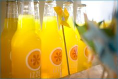 great party drink idea for a baby shower