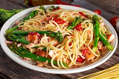 Still cautious about going to restaurants? Good for you! Here's a way to turn your ordinary ho-hum meal into special one. Add Alaskan smoked salmon tobuttered pasta, and top with steamed asparagrus and fresh tomatoes. Bye bye ho-hum!