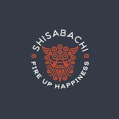 Shishabachi by vigorbranding Logos, Typography Logo, Logo Branding, Logo Process, Japan Logo, Learning Logo, Hotel Logo, Web Design, Logo Design