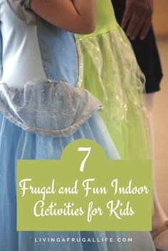 It seems like every time of year there are days you can't go outside and the kids are driving you crazy! Here are some ideas for frugal and fun indoor activities for kids! These easy activities help whether it is too hot or cold to go outside.