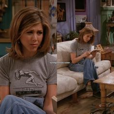 Stil von Rachel Green Style of Rachel Green Rachel Green Outfits, Style Rachel Green, Rachel Green Hair, Rachel Green Fashion, Peinados Jennifer Aniston, Estilo Jennifer Aniston, Jenifer Aniston, Jennifer Aniston Hair Friends, Jennifer Aniston Short Hair