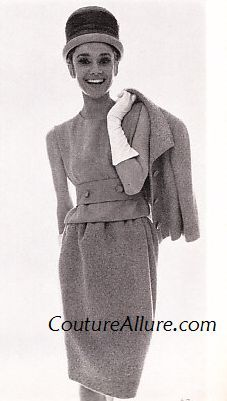 Couture Allure Vintage Fashion: Audrey Hepburn Wears Givenchy, 1963
