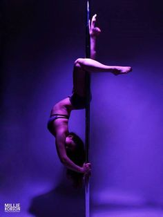 Pole Picture of the Day: Submitted by Adelina Rakhimova. Photography by: Millie Robson Photography. #BKPPOD #BadKittyPride #FoldOverShorts.  Submit your photos here: www.badkitty.com/submit