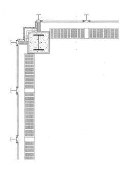 Mies van der Rohe / Seagram Administration Building / New York / 1954/58 / Corner Detail