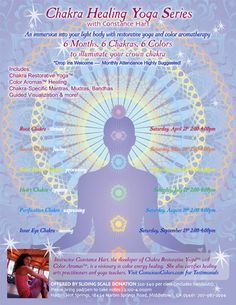 Chakra Restorative Yoga Classes