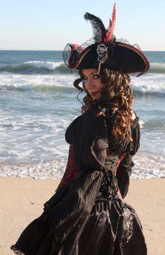 Pirate costume by auralynne http://auralynne.etsy.com