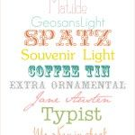 cutest free fonts