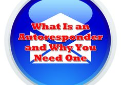 http://www.powertoolsformarketers.com/blog/internet-marketing-tip-what-is-an-autoresponder-and-why-you-need-one. What is an autoresponder and why you need one? It is a key weapon in the internet marketer's arsenal. If you're not using one, you're not serious about online marketing. Click on the link to read the entire article on autoresponders and email marketing.
