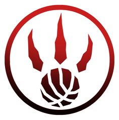 Raptors 2 color #NBA #Digitalart #design #sports #teamcolors #2015 #searinglimb