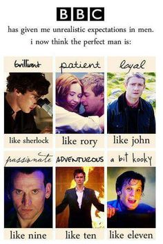 Rory, Ten, and Eleven are my favorites
