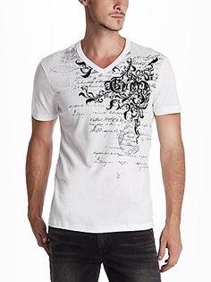 Guess Shirt Tank Top Shirt, Tank Tops, T Shirt, Guess Shirt, Laid Back Style, Vernon, V Neck Tee, Tank Man, Shop Now