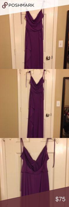 BCBG Dress Long spaghetti string dress BCBG Dresses