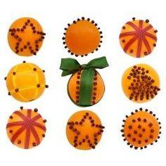 Christmas Orange Pomanders