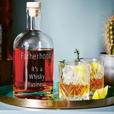 'Fatherhood, It's A Whisky Business' Decanter