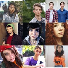 PJO/HoO supporting characters casted right! By @baylordakota all pic credit goes to shown cosplayers/people