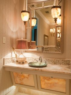 Images On Traditional Powder Room design by Austin Interior Designer One swanky shop Making a vanity roll under for wheelchair accessibility is a really simple thing