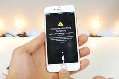 iOS 10 nos advertirá si el dispositivo se ha mojado