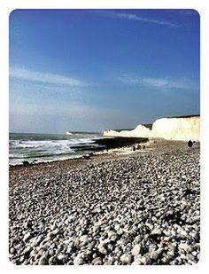 Birling Gap, East Sussex, Great Britain  #beach #uk #britain #sea #stunning