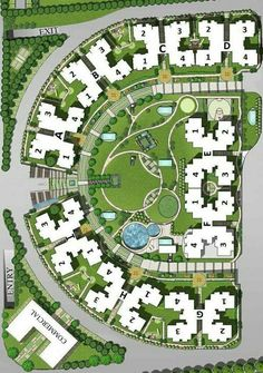 What is Landscape Architecture? Landscape Architecture Drawing, Landscape Design Plans, Architecture Plan, Urban Landscape, Site Development Plan, Resort Plan, Urban Design Plan, Site Plans, Urban Planning
