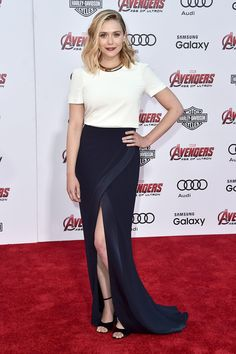 Elizabeth Olsen at Avengers, Age of Ultron Premiere