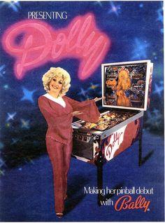 dolly parton pinball