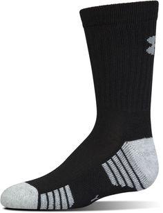 NEW Under Armour HeatGear Tech Low Cut Socks 3 Pack Men Medium Black//Gray E5