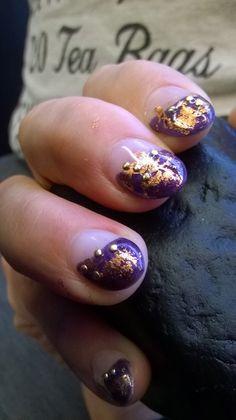 Autumn 2014 nail style.