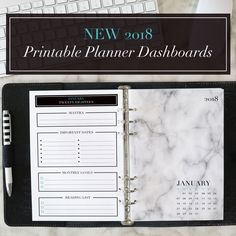 January FREE Planner Printables and Tech Wallpapers Are Here!