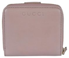 0d351c094046 Gucci Textured Saffron Leather Dollar Calf Zip around Wallet with Gucci logo  363 #stellasaksa. See more. Gucci Women's Washed Soft Pink French Flap  Wallet ...