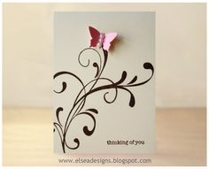 Elsea Designs: Quickest Card I have Ever Made!!