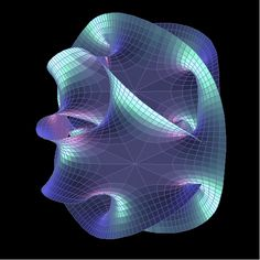 This is what extra dimensions  actually look like according to string theory