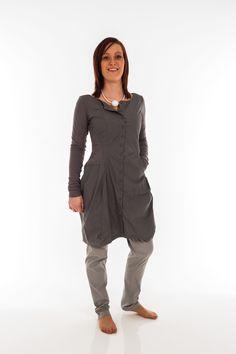 Rundholz Long Sleeve Tunic (67 0902) Grey