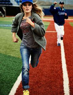 Elle Italia, Sport looks, Olga Maliouk, Looks deportivos, Beisbol