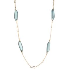 Reversible Liquid Link Station Necklace | Alexis Bittar