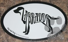 Euro Style Labrador Retriever Dog Breed Magnet http://doggystylegifts.com/products/euro-style-labrador-retriever-dog-breed-magnet