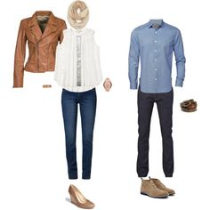 """""""Spring Casual Couple Photoshoot"""" by kelly-60 on Polyvore"""