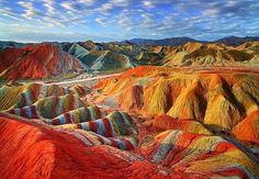 Rainbow Mountains,Vinicunca, Peru