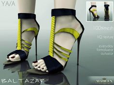 Madlen Baltazar Shoes by MJ95 - Sims 3 Downloads CC Caboodle