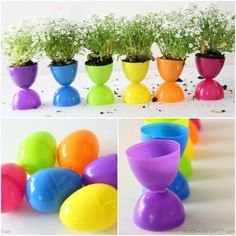 Plastic Easter Eggs seem to multiply every year. Don't toss them or store them away until next year. Why not reuse those eggs for these Plastic Easter Egg Crafts and Activities?