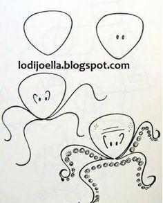 Como hacer dibujos paso a paso :lodijoella