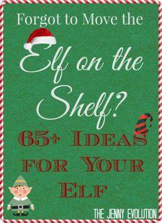 Elf on the Shelf Ideas | The Jenny Evolution