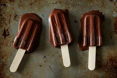 Fudgesicles www.theteelieblog.com The reasons why you should serve these is because: the ingredients needed are few, it's refreshing and most of all – it's delicious! Make your Fourth of July feast more fun with these fudgesicles. #TeelieBlog