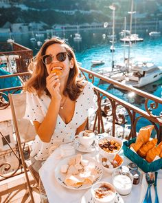 villefranche sur mer breakfast with a view France Travel Destinations France Photos, Europe Photos, Nice France, South Of France, Weather In France, France Photography, Lifestyle Photography, Photography Ideas, European Honeymoons