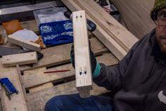 Fori a tasca per unire una gamba del letto nel camper    #pockethole #foritasca #woodworking  #woodworker #diyhomedecor #diy