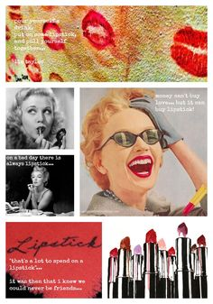 """""""If At First You Don't Succeed… Apply More Lipstick""""…  (from French Essence)"""